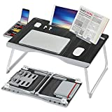Laptop Bed Table, XXL Bed Trays for Eating, Laptops, Writing, Study and Drawing- Laptop Desk for...