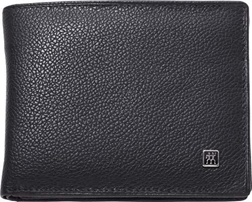 Zwilling 97496-004-0 Twinox Portemonnaie aus Rindleder mit S Nagelknipser, schwarz