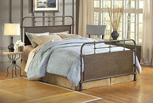 Hot Sale Hillsdale Furniture 1502BQR Kensington Bed Set with Rails, Queen, Old Rust