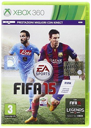 Electronic Arts FIFA 15, Xbox 360 Básico Xbox 360 ENG vídeo - Juego (Xbox 360,...