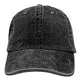 Tiffany Church La Scienza è nei Miei geni Dna Denim Hat Regolabili Cappellini da Baseball Classici da Donna