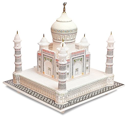 Artista Haat 30,5 cm marmo indiano souvenir collezione artigianato Taj Mahal / Tajmahal Replica