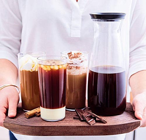 TUPPERWARE COLD BREW COFFE CARAFE 1¼-qt./1.3 L