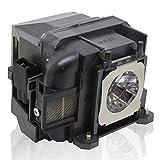 PanPacSight Bombilla Proyector ELPLP78 V13H010L78 Compatible con Epson PowerLite Home Cinema 2030 2000 730HD 725HD 600 VS230 VS330 VS335W EX3220 EX6220 EX7220 EX7230 EX7235 Lampara
