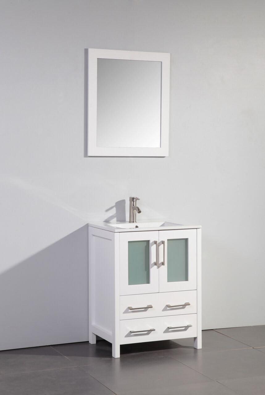 Legion Furniture WA7924W Bathroom vanity, 24