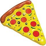 Tante Tina Pizza - Colchón hinchable para pizza, pieza de baño como isla de baño para la piscina, flotador gigante, juguete XXL