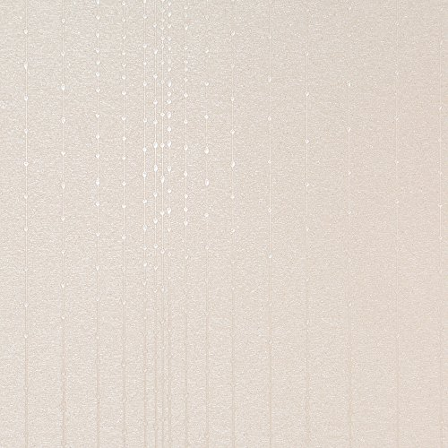 Gleam Beige Modern Wallpaper for Walls - Double Roll - by Romosa Wallcoverings LL7511