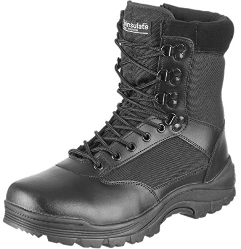 Tactical Boot mit YKK-Zipper,38 EU,Schwarz