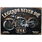 DIY Vintage Old Motorcycle 5D Diamond Painting Kits for Adults Full Round Drills Arts Craft Supply for Home Wall Decor Gift-12x16in(30x40cm)
