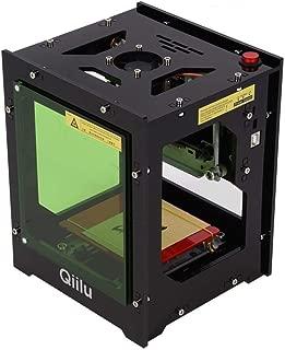 Qii lu 1500mw Máquina de Grabado láser Herramientas de Bricolaje Mini USB Laser Engraver Máquina de enrutador CNC para iOS/Android / PC (Garantía de actualización de un año de la versión) (1500mW)
