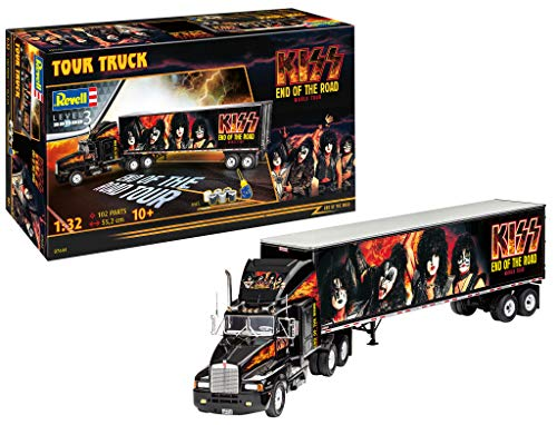 Revell 07644 Fan-Edition Geschenkset KISS Tour Truck Toys, 55,2 cm, 1/32