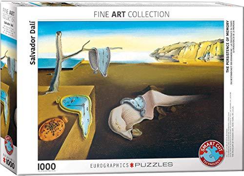 EuroGraphics- The Persistence of Memory Puzzle, Multicolore, Taglia unica, 6000-0845