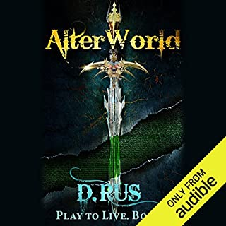 AlterWorld audiobook cover art