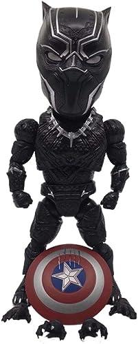 vendiendo bien en todo el mundo JXJJD Versión Avengers 3 Q del Modelo de Mano de de de Pantera Negra Souvenir colección Manualidades  ofreciendo 100%