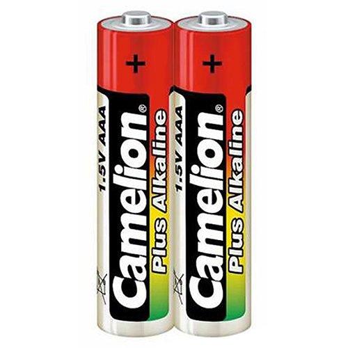 Camelion Plus Micro AAA LR 03 Alkali Batterie (2 Stück) (in Schrumpffolie verpackt)