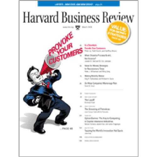 Harvard Business Review, March 2009 Titelbild