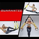 TianranRT TRX Set Yoga Fitness Bandas de Resistencia Tirando de la Cuerda Colgante Cinturón de Suspensión