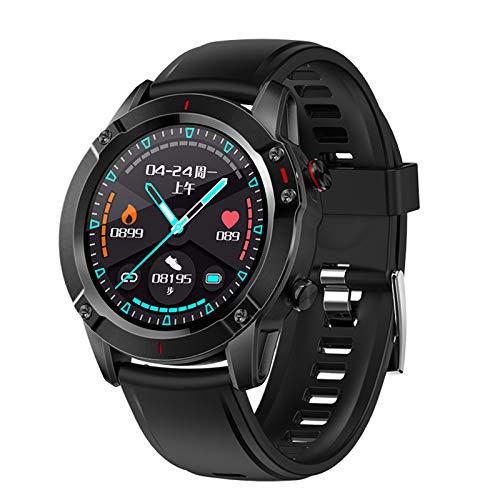 Pantalla A Color 1.3 Pulgadas Reloj Inteligente Táctil Completo Podómetro Bluetooth Reloj Inteligente Monitorización Del Sueño Del Ritmo Cardíaco Pulsera Inteligente Rastreador De Fitne(Color:segundo)