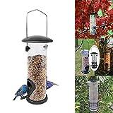 TopHGC Comedero para pájaros, Dispositivo de alimentación Colgante,decoración de jardín