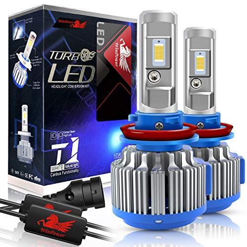 Win Power H11 LED Headlight Bulb Conversion Kit H8...