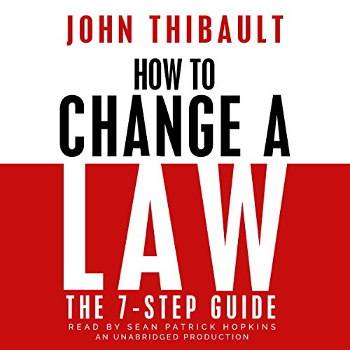 How to Change a Law audiobook cover art