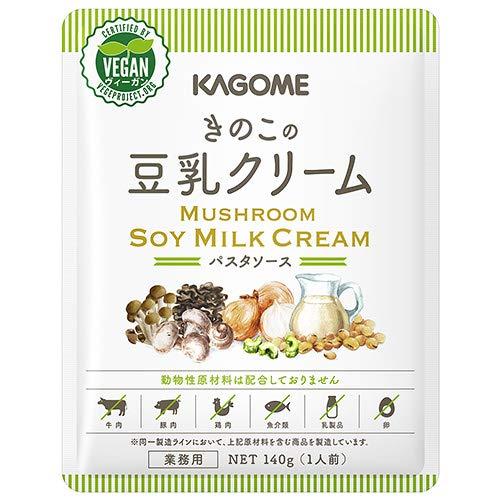カゴメ きのこの豆乳クリーム 140g×30個入×(2ケース)