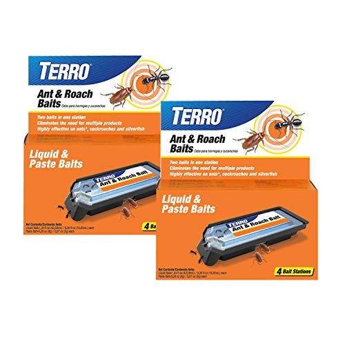 Terro T360SR Ant amp Roach Baits2 Pack Tan