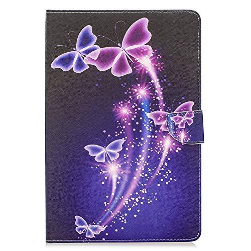 Funluna Funda para Samsung Galaxy Tab S5e 10.5 2019 SM-T720/T725, Lightweight Soporte Protectora Plegable Cover Suave Trasera Magnetic Cartera Carcasa para Samsung Tab S5e 10,5, Corazones Rosa