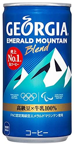 コカ・コーラ ジョージア エメラルドマウンテン 缶 コーヒー 185g×30本