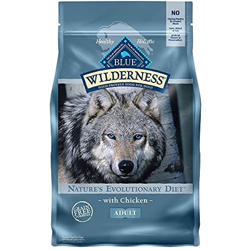 BLUE Wilderness Adult Grain Free Chicken Dry Dog Food 4.5-lb