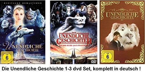 Die unendliche Geschichte 1-3 dvd Set, Bundle,1,2,3 - Alle Teile I,II,III