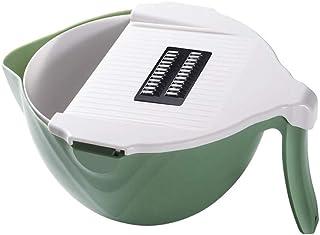 Coupe de légumes de 6 en 1 ABS + 430 Acier inoxydable Cuisine Rover Drain Panier Panier Panier Panneau de légumes de légum...