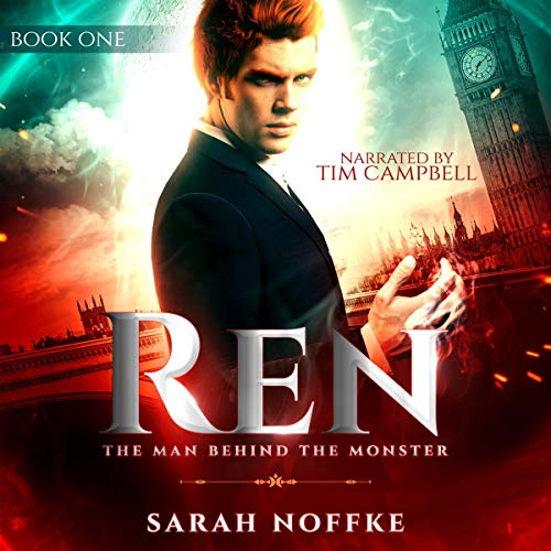 Ren: The Man Behind the Monster audiobook cover art