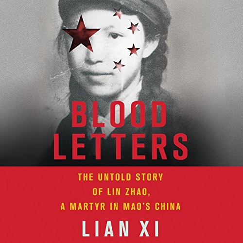 Blood Letters audiobook cover art