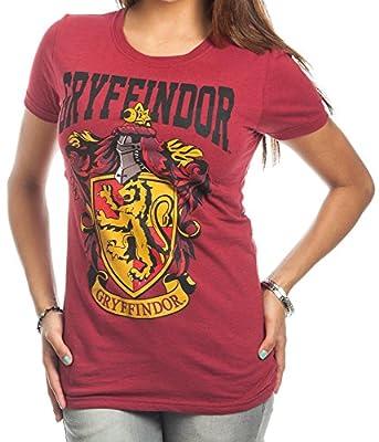 Harry Potter Gryffindor Crest Bold Girl Juniors T-Shirt