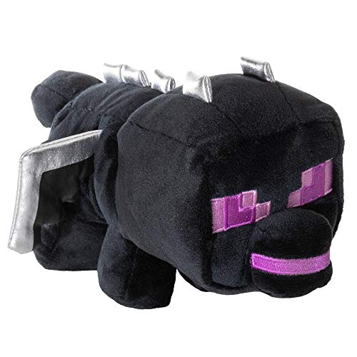 JINX Minecraft Happy Explorer Standing Ender Dragon Plush Stuffed Toy, Black, 5.5' Tall