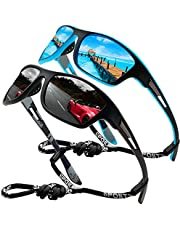 Polarized Sunglasses for Men Women/Retro Style Vintage Round Key Shape Nose/Outdoor sports beach sunglasses UV400 (F/green)