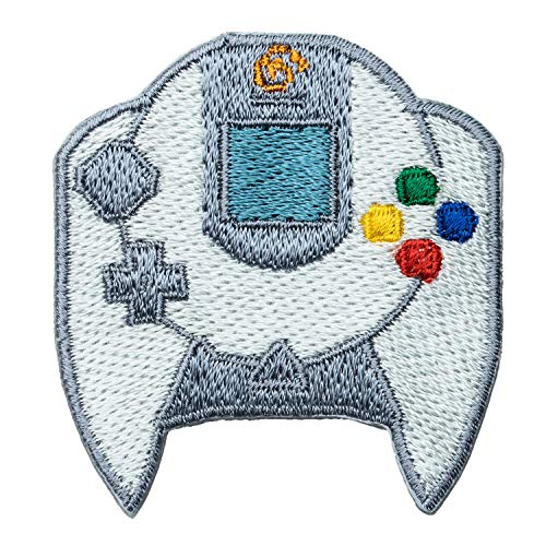 セガハードウェア 2way刺繍ワッペン<ドリームキャスト コントローラー> 【オフィシャルライセンス商品】 グラフト ゲーミングライフ GGL027