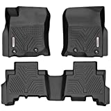 YITAMOTOR Floor Mats Compatible with Toyota 4Runner, Custom Fit Floor Liners for 2013-2020 Toyota 4Runner & 2014-2019 Lexus GX460, 1st & 2nd Row All Weather Protection