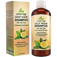 Volumizing Shampoo Oily Hair with Lemon Oil + Sage Hair
