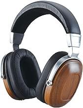 BLON BossHIFI B8 Wooden Walnut Metal Over Ear Headphone with Beryllium Alloy Driver, Soft Protein Memory Earmuffs, Noise Canceling (Ordinary)