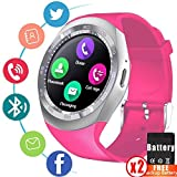 Smart Watch Fitness Tracker for Men Women Mother Bluetooth Smartwatch Unlocked Cell Phone Watch with SIM Card Sport Watch with Pedometer Monitor Wearable Sync Phone Calls SMS Holiday Bithday Gifts