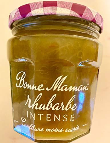 Bonne Maman Rhubarbe intense - Le pot de 335 g