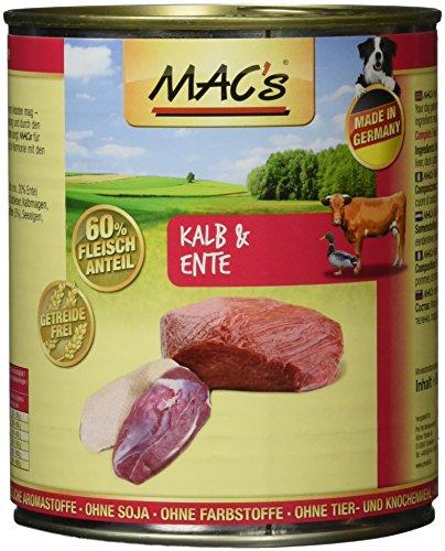 MAC's Kalb & Ente, 6er Pack (6 x 800 g)