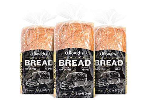 O'Dough Gluten Free White Bread Loaf, 24.7 Ounce [3 Packs]
