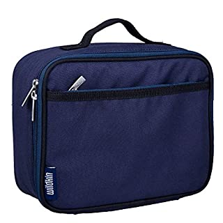 Wildkin Kids Insulated Lunch Box Bag for Men and Women, Ideal Size for Packing Hot or Cold Snacks for Work & Travel, Measures 9.75 x 7 x 3.25 Inches, Mom's Choice Award Winner, BPA-free (Whale Blue) (B0067QYHZU) | Amazon price tracker / tracking, Amazon price history charts, Amazon price watches, Amazon price drop alerts
