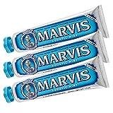 Marvis pasta de dientes de menta acuática, 3-pack (3x 85 ml)