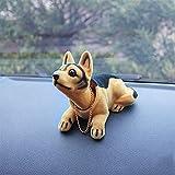 Automobile Dashboard Scuotimento Testa Giocattolo Ornamenti annuendo Il Cane Auto Arredamento Interno Decorazione Regalo (Color Name : F)