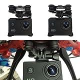 Cewaal Sport Camera Holder Frame Bracket with Gimble Gimbal For Syma X8C X8W X8G X8 RC Quadcopter Drone