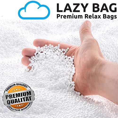 Lazy Bag Original EPS Perlen Sitzsackfüllung Sitzsack Styropor-Kügelchen Nachfüllpack Füllung für Sitzsäcke Sitzkissen Nackenkissen UVM. (50 Liter)